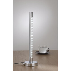 Tower LED lampka biurkowa 12V chrom
