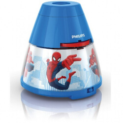 Lampka + projektor LED SPIDERMAN