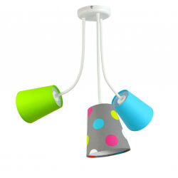 Lampa Flexi Grochy Mix 3pł.