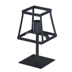 Lampa biurkowa Tower Black