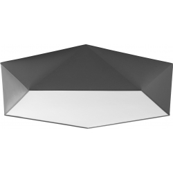 TK Lighting  Plafon Conti Gray