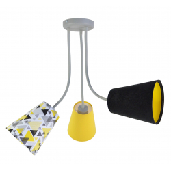 Lampa Flexi Trio Yellow 3pł.